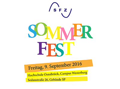 Sommerfest des SFZ am 9. September